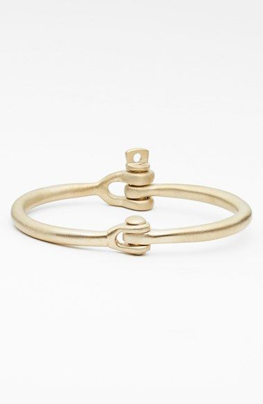 Miansai 'Reeve' Brass Cuff Bracelet available at #Nordstrom