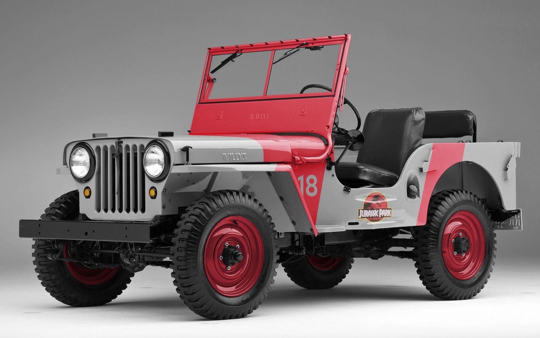 Jurassic Park styled 1945 Jeep CJ2A | JEEP/Willys | Pinterest ...