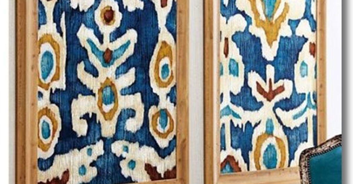 diy fabric wall decals