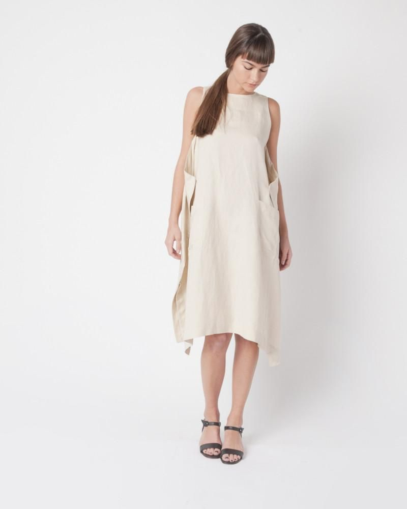 Flick dress in white cream products pinterest products