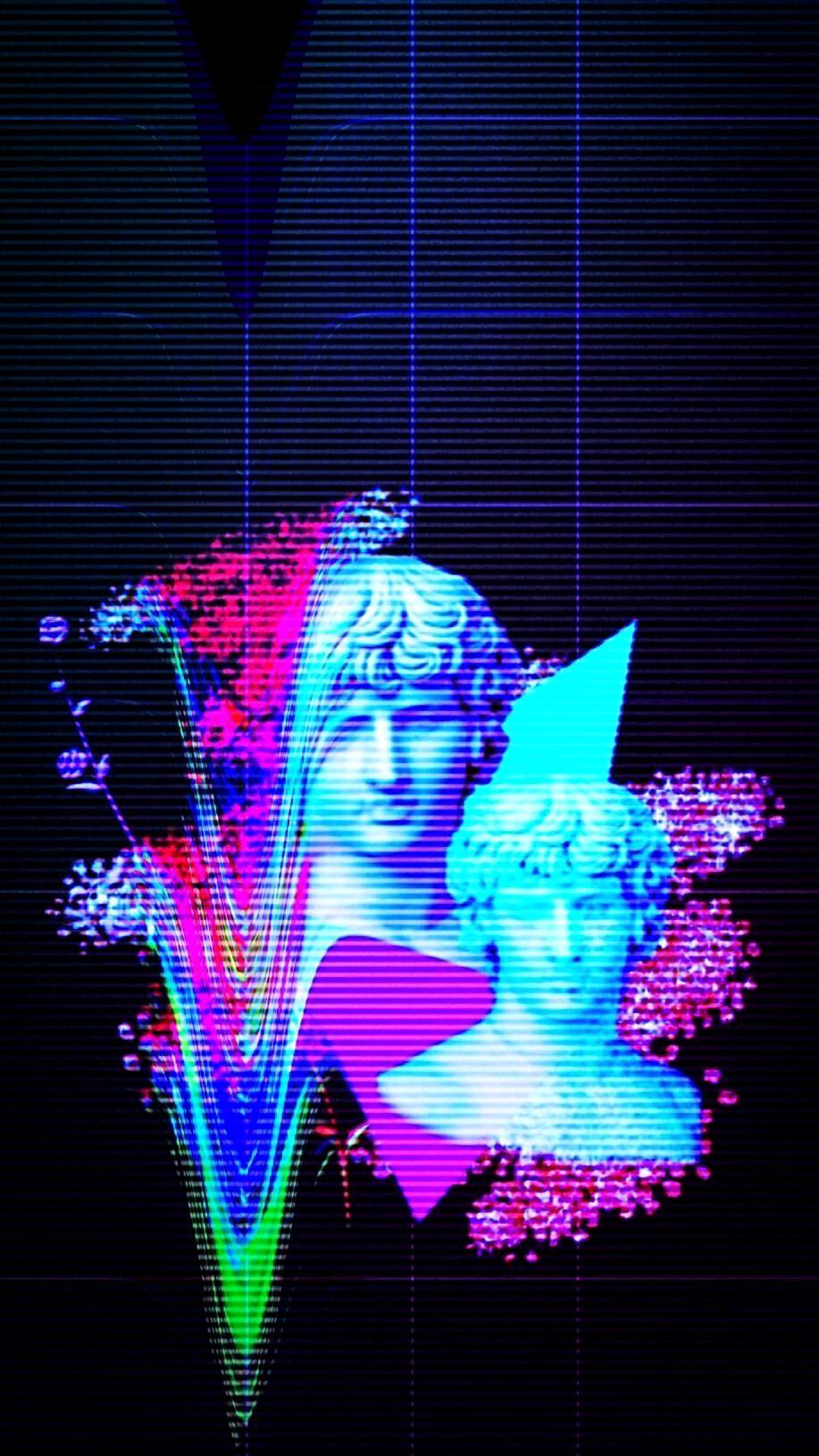 Wallpaper 4K Vaporwave Trick in 2020 | Vaporwave wallpaper ...