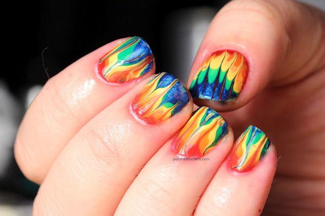 rainbow dry marbling