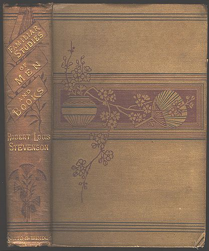 RLSs Familiar Studies Of Men And Books 1882 Along With Essays On