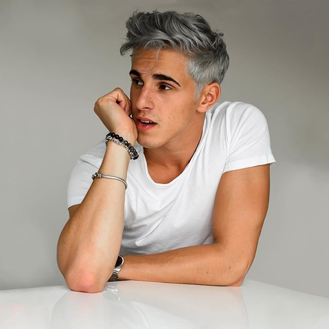 Marvelous Image Result For Silver Grey Hair Men Gun Metal