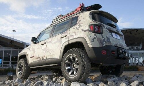 Jeep Renegade Trailhawk Custom Jeep Renegade 2015 Jeep Renegade