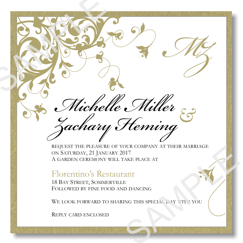 wedding invitation - tree/curly qs   Wedding invitations   Pinterest ...