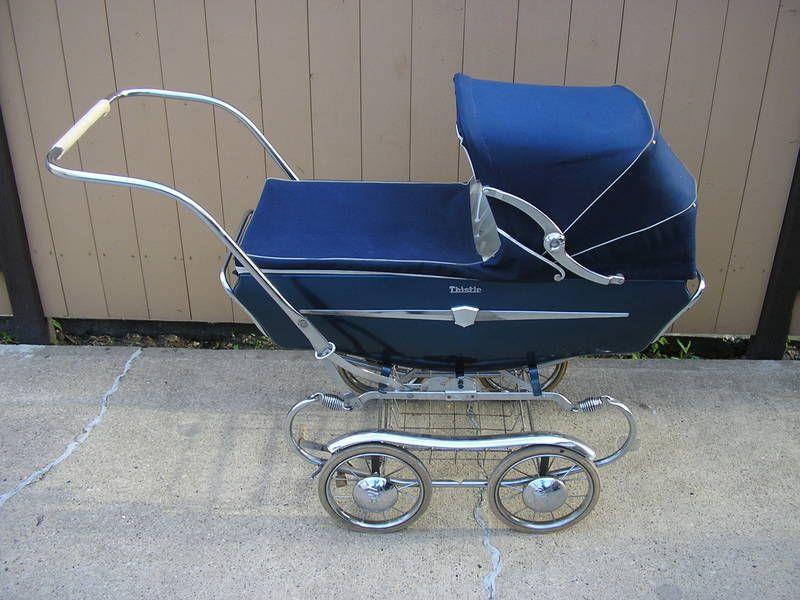 Vintage Blue Baby Carriage Vintage Baby Pinterest