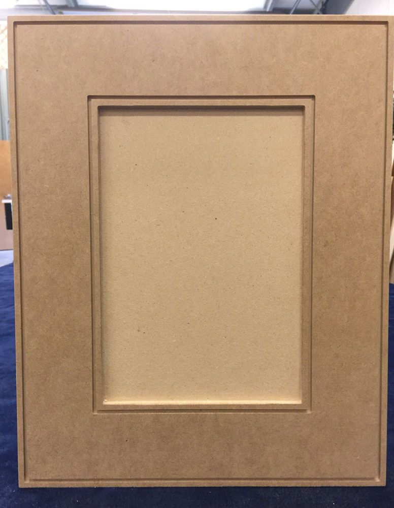 Custom Cut To Size Mdf Contemporary Recess Panel Cabinet Door Drawer Fronts Plyoboxwarehouse
