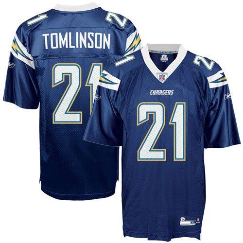 47af93015 Reebok San Diego Chargers Ladainian Tomlinson Replica Jersey Xx Large     Click image to review more details.