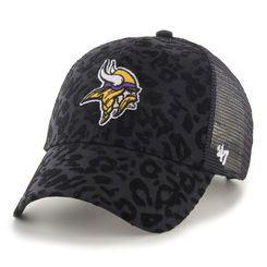 ead4668c Women's Minnesota Vikings '47 Black Billie Adjustable Hat | my ...