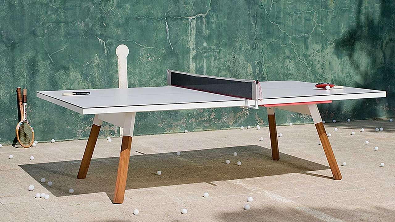 You Me Indoor Outdoor Table Tennis Frontgate Outdoor Ping Pong Table Ping Pong Table Ping Pong Indoor outdoor ping pong table
