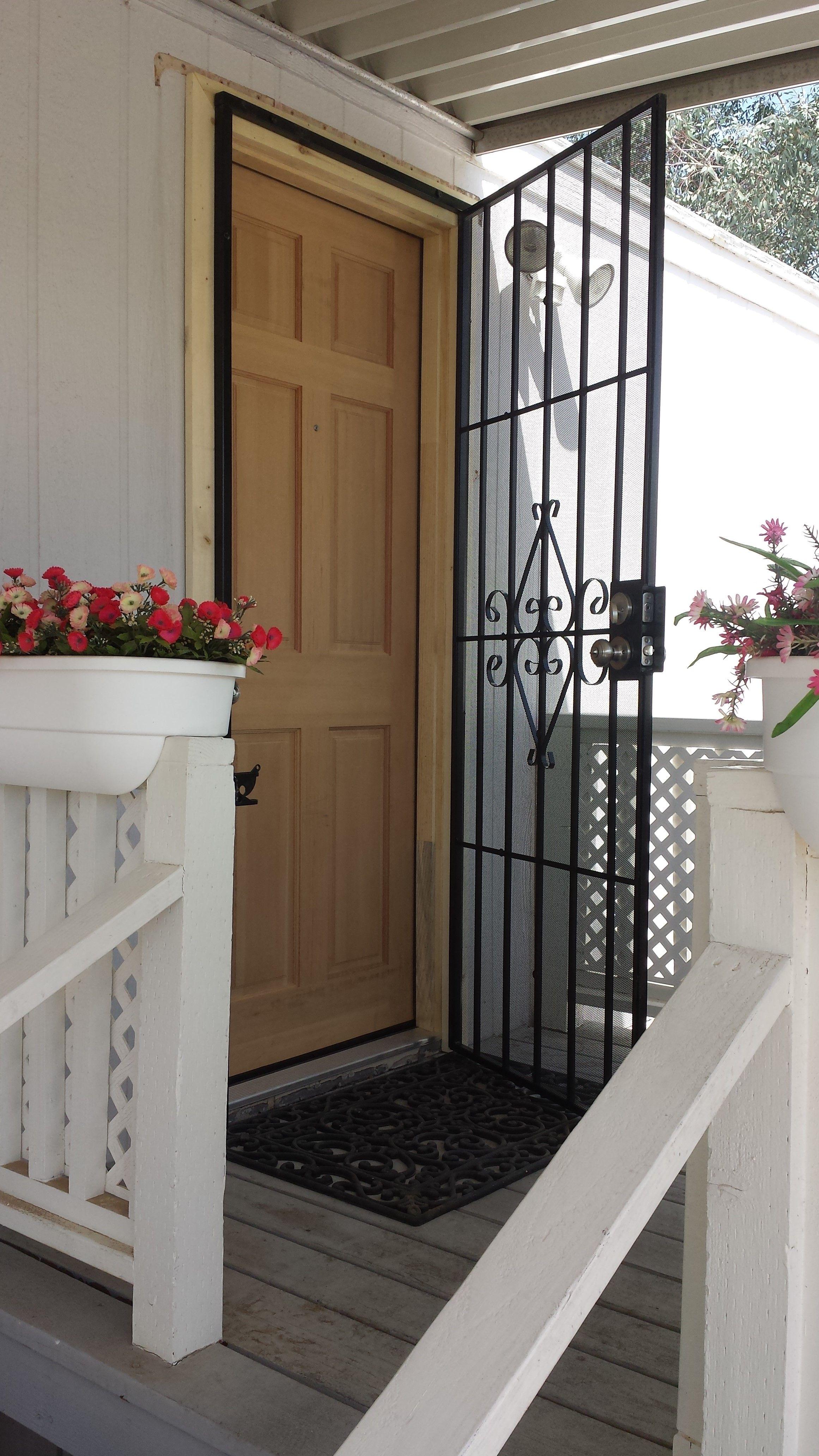 Mobile home security doors franzdondi pinterest