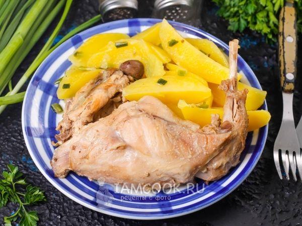 Тушеный заяц с картошкой | Рецепт | Еда, Идеи для блюд и ...