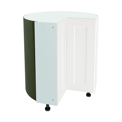 Nimble Vanilla Shake Cabinet Door Collection 36-in x 30-in Vanilla Shake Corner Cabinet with ...