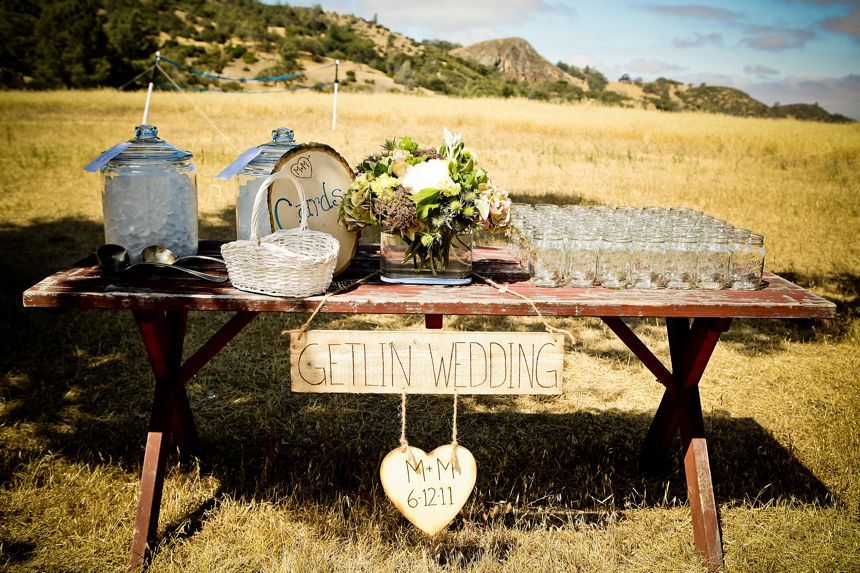 Inspired By An Outdoor Western Themed Wedding