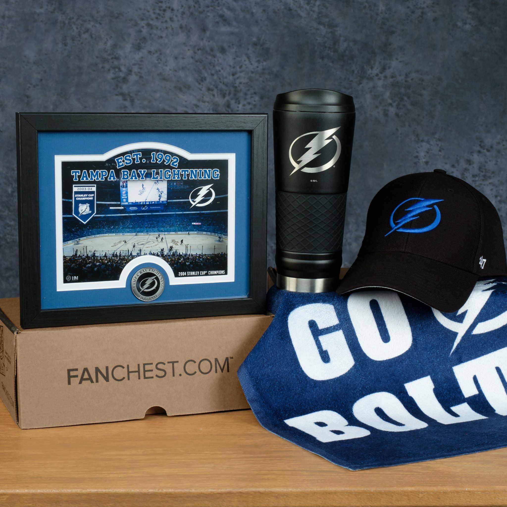 huge discount 4c670 aaa4f Tampa Bay Lightning FANCHEST Deluxe | Tampa Bay Lightning ...