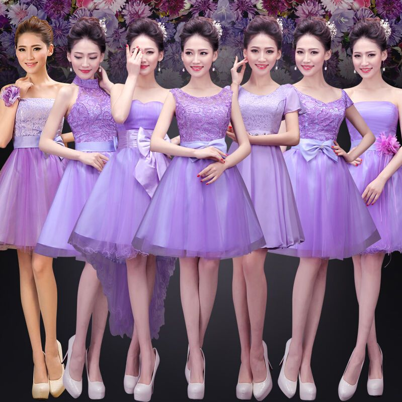 2015 Women Ladies NEW ARRIVAL sexy Bridesmaids Dresses For Evening ...