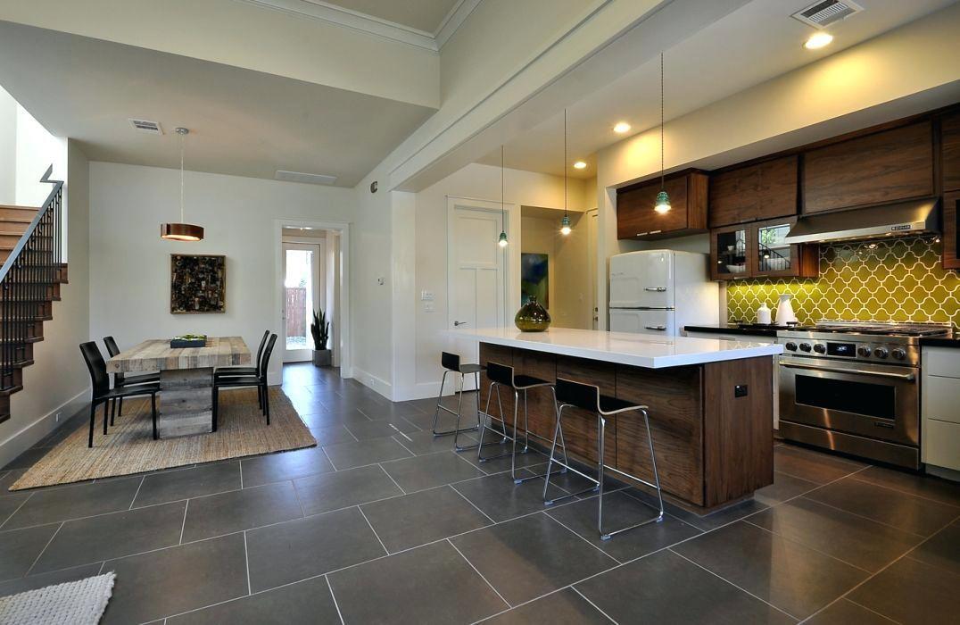 Mid Century Modern Floor Tile Extensive