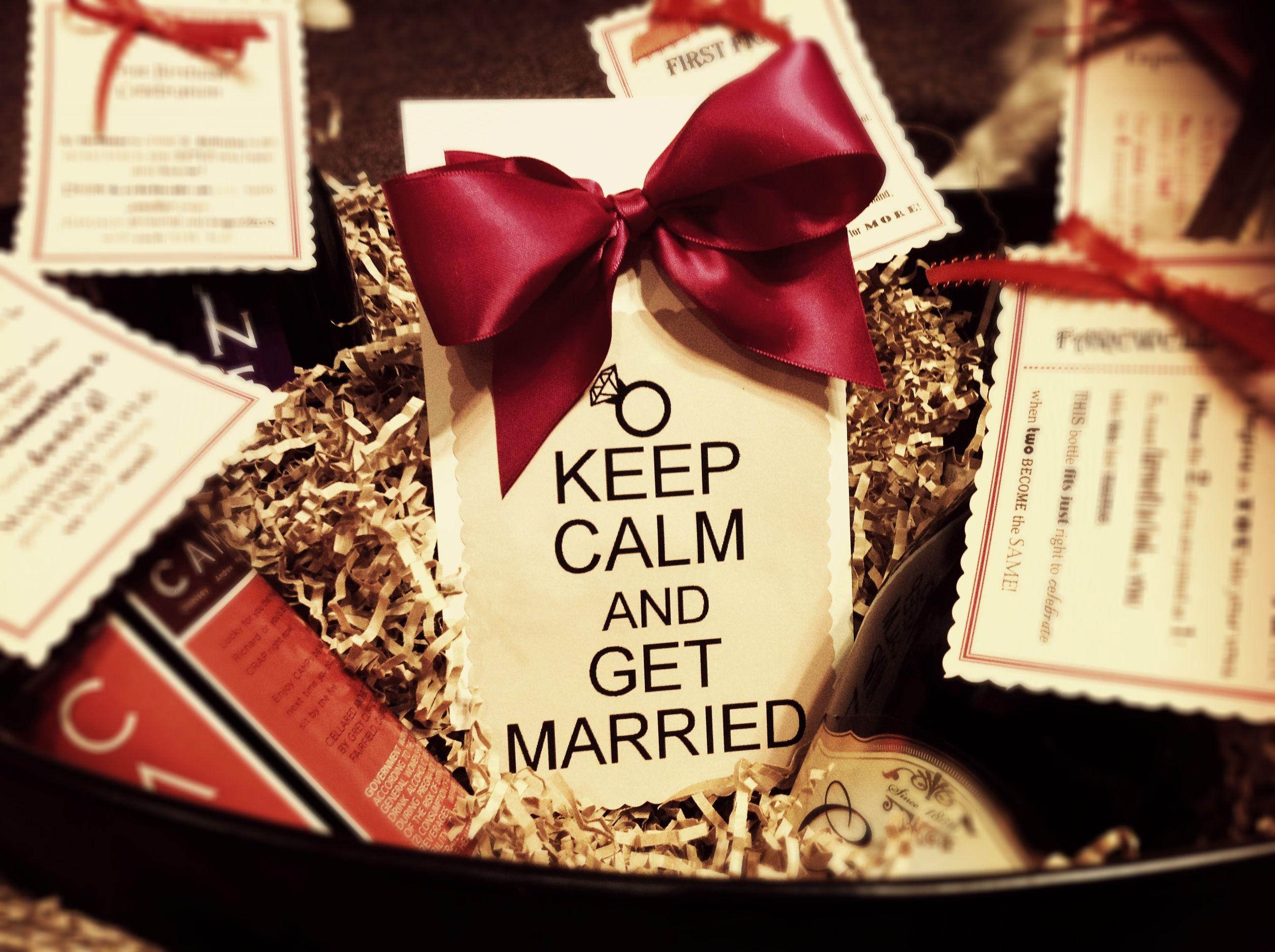 Best 25+ Bridal Gift Baskets Ideas On Pinterest