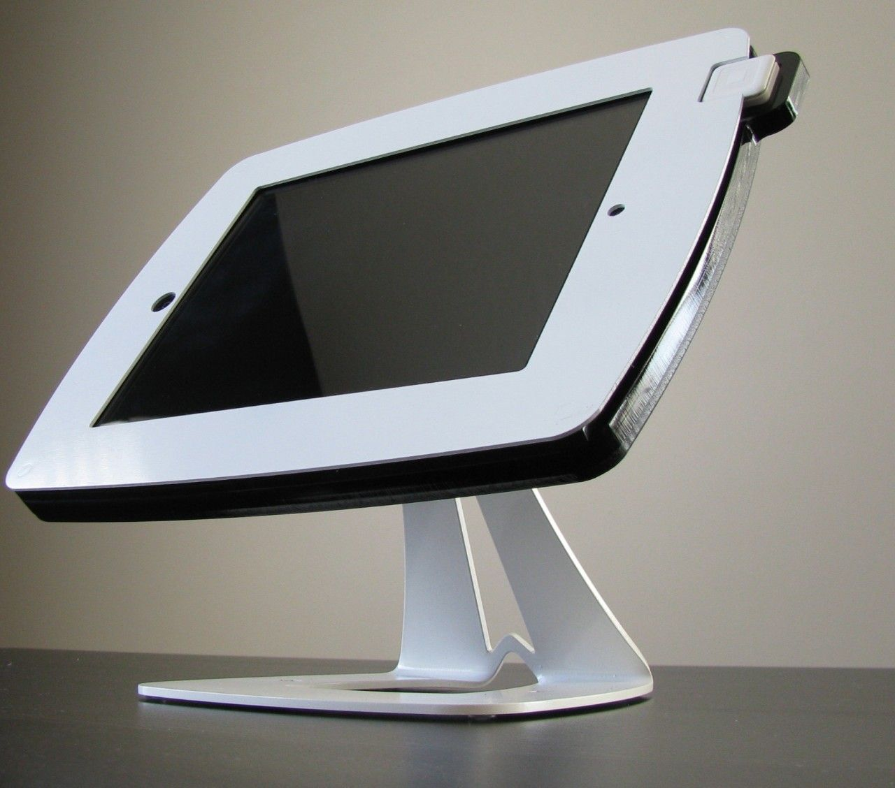 Action kiosks google tablet stand mirror table