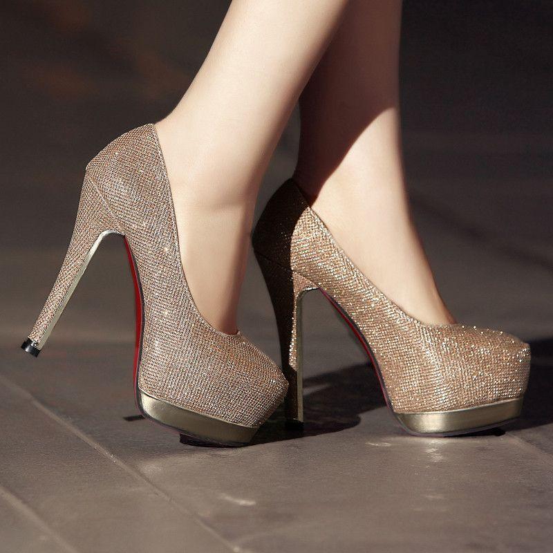 2014 New arrive womens pumps 16cm red bottom high heels