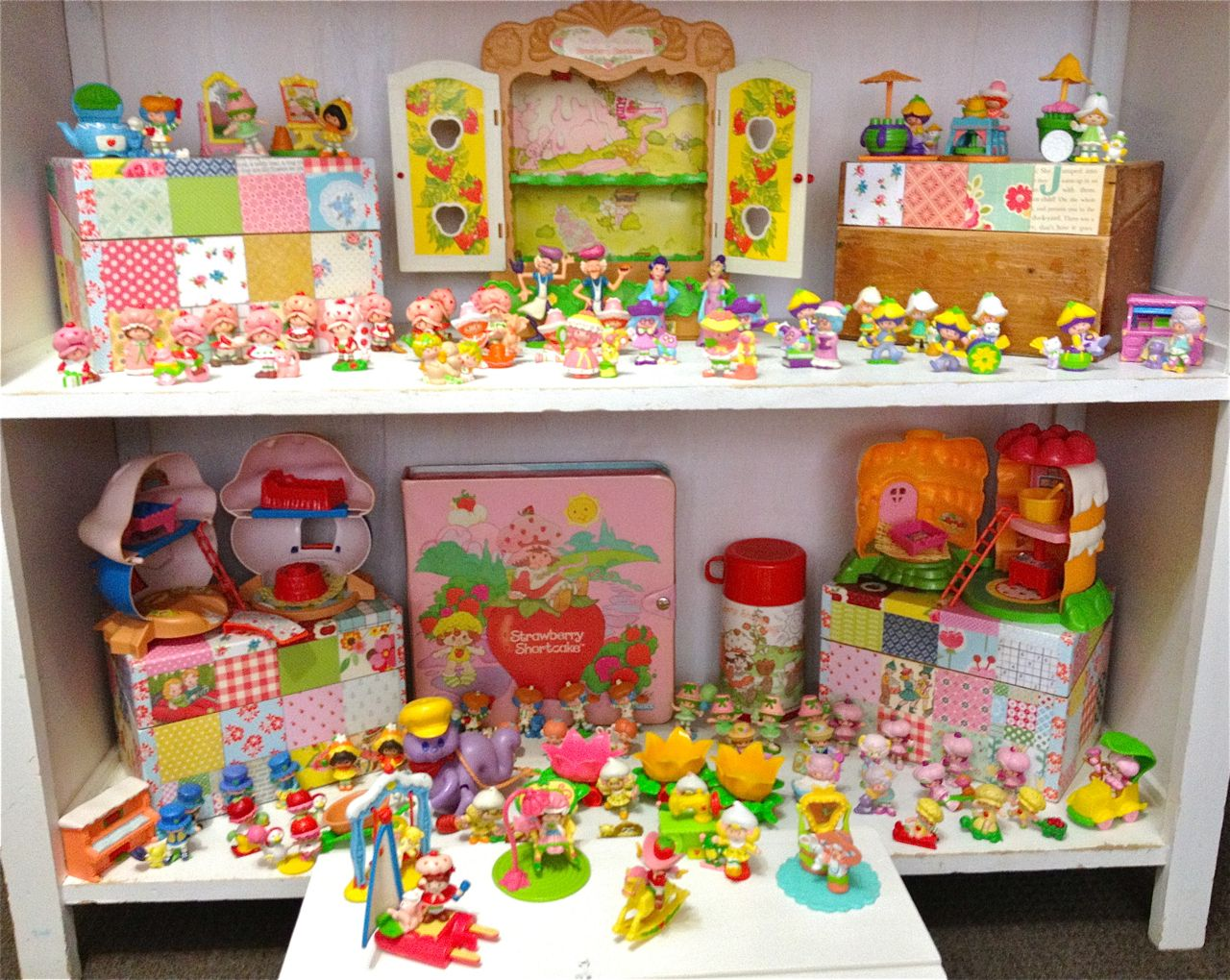 Near Complete Vintage Strawberry Shortcake Mini Collection Dolls Doll