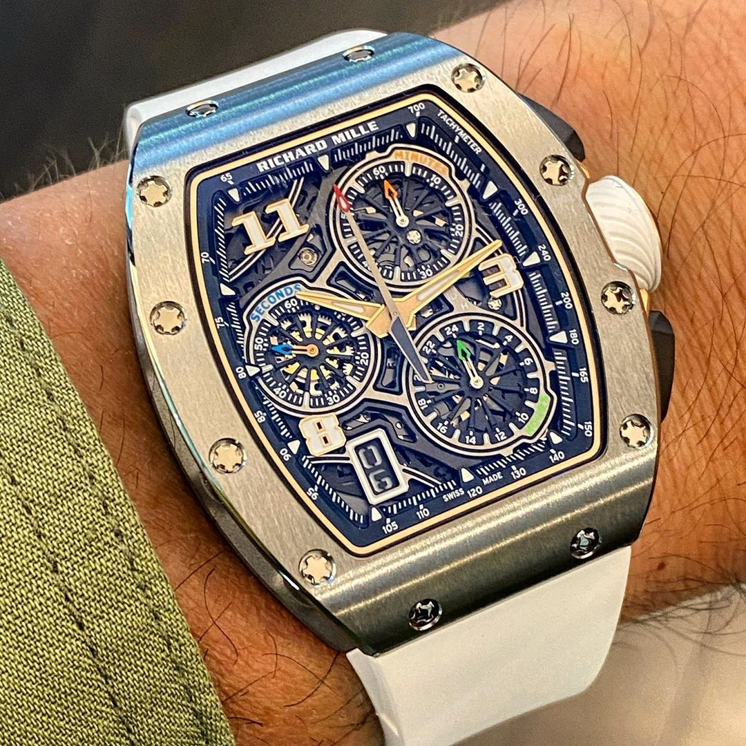 Fx Overstake Watch On Instagram With The Stunning Richardmille Rm7201 Lifestyle Automatic Chr In 2021 Richard Mille Richard Mille Watches Double Clutch