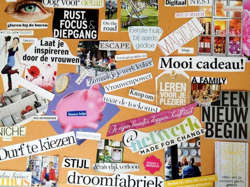 Ongekend Hoe Maak Je een Digitaal Moodboard of Collage | Moodboard, Blog tips WY-41
