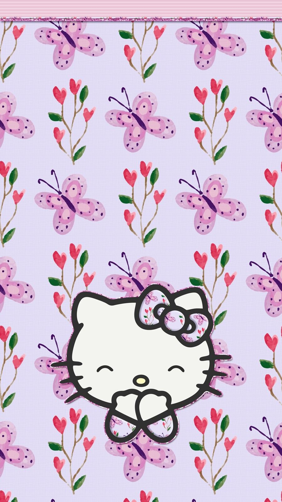 Pin By Princess On Backgrounds Pinterest Hello Kitty Wallpaper