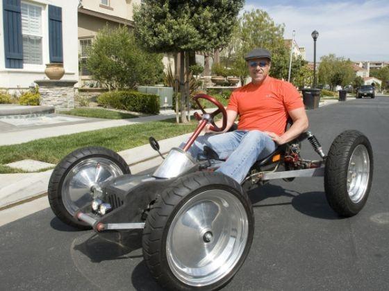The Homebuilt Electric Z Kart Who Needs A Tesla Roadster Image 3 Of 7 Go Kart Plans Go Kart Electric Cars