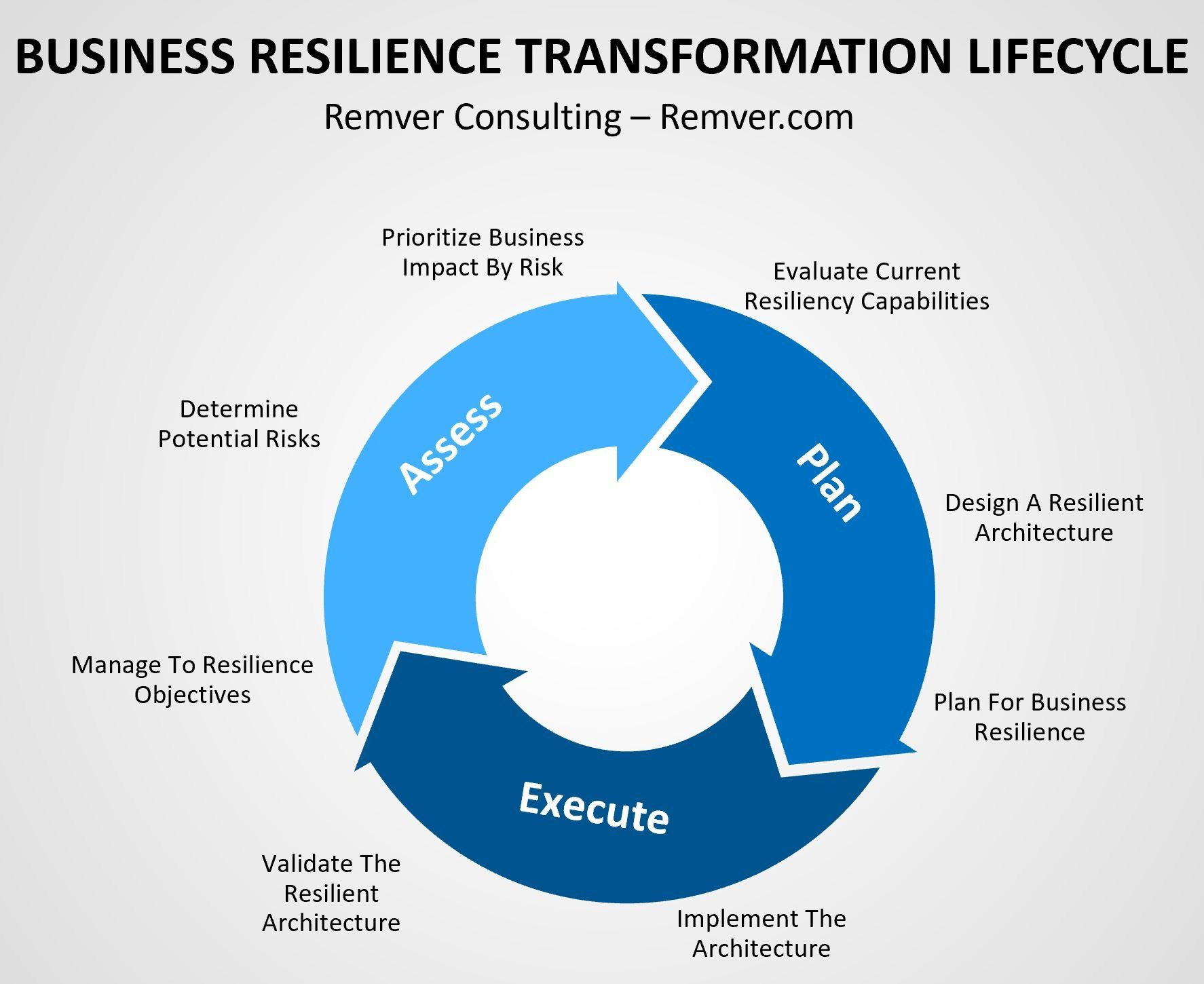 Business Resilience Cycle in 2020 Resilience, Business