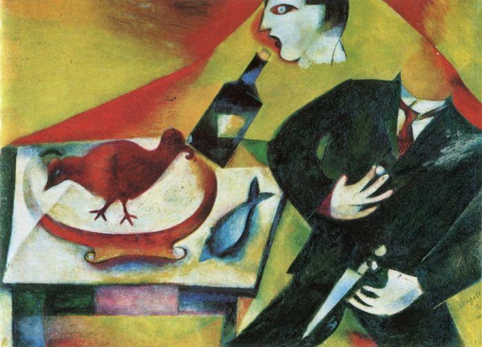 Marc Chagall Werke Sinnbilder Eines Lebens Chagall Pinterest
