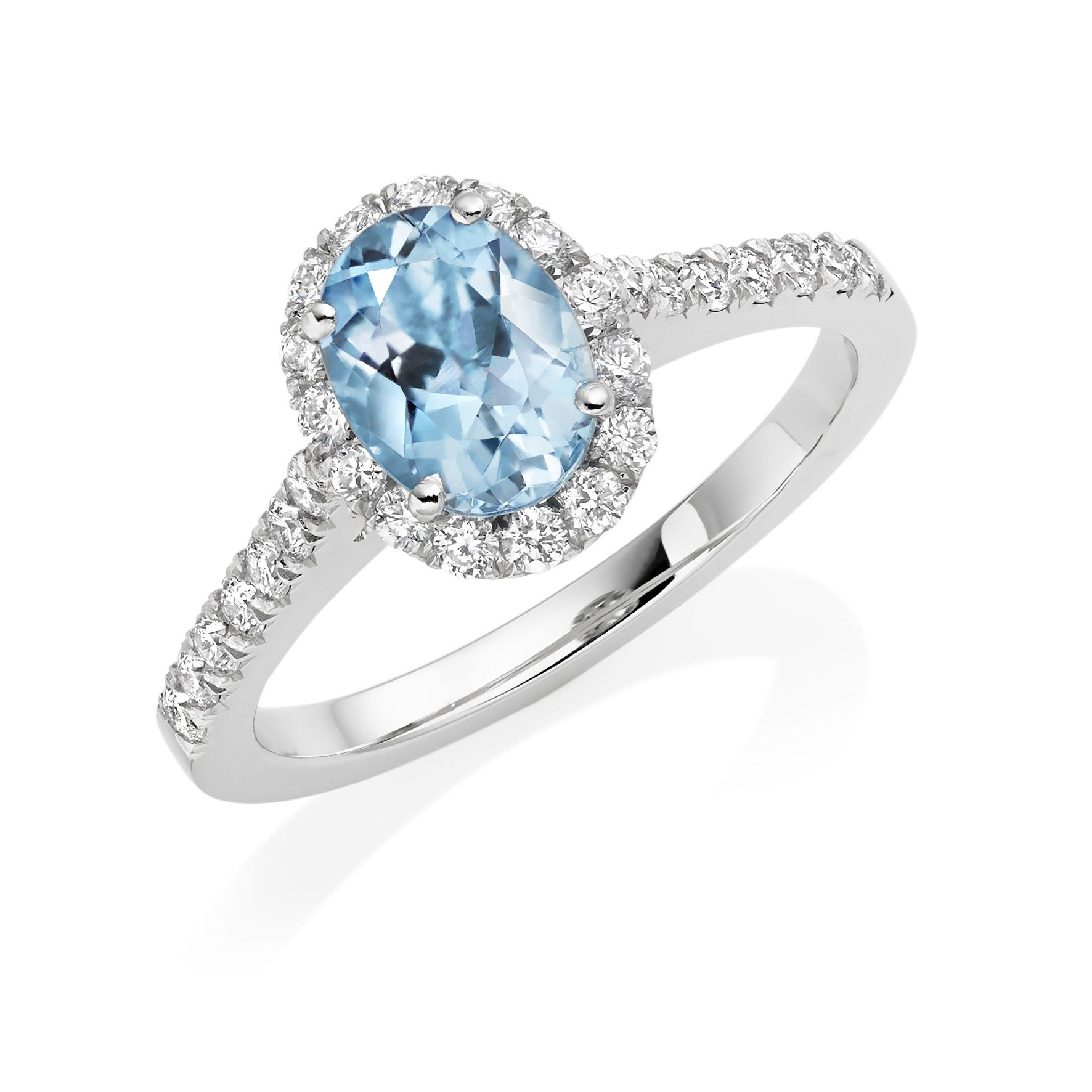 Looking For An Aquamarine Diamond Ring Look No Further Http Www Rennieco Com Catalogsearch Res Emerald Engagement Ring Halo Diamond Halo Diamond Ring