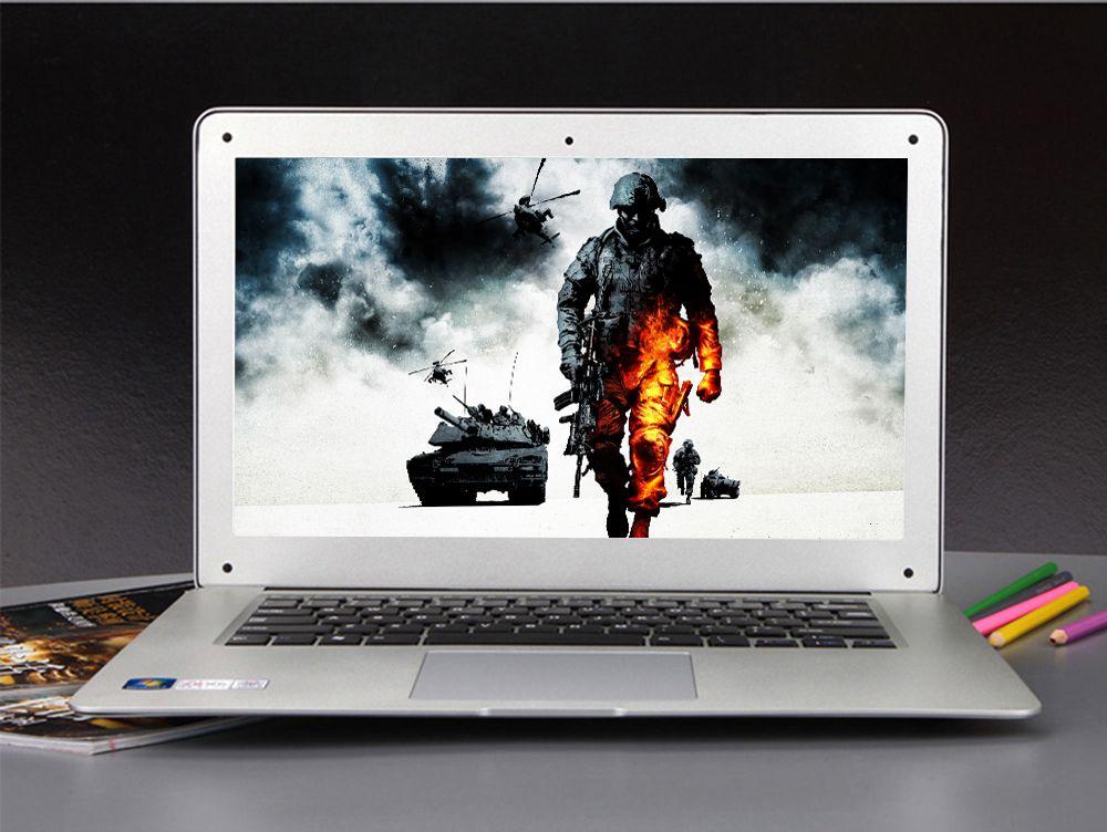 14 인치 노트북 컴퓨터 노트북 intel celeron j1900 쿼드 코어 8 기가바이트 RAM 및 500 기가바이트 HDD 윈도우 10 와이파이 HDMI 1.3MP 웹캠