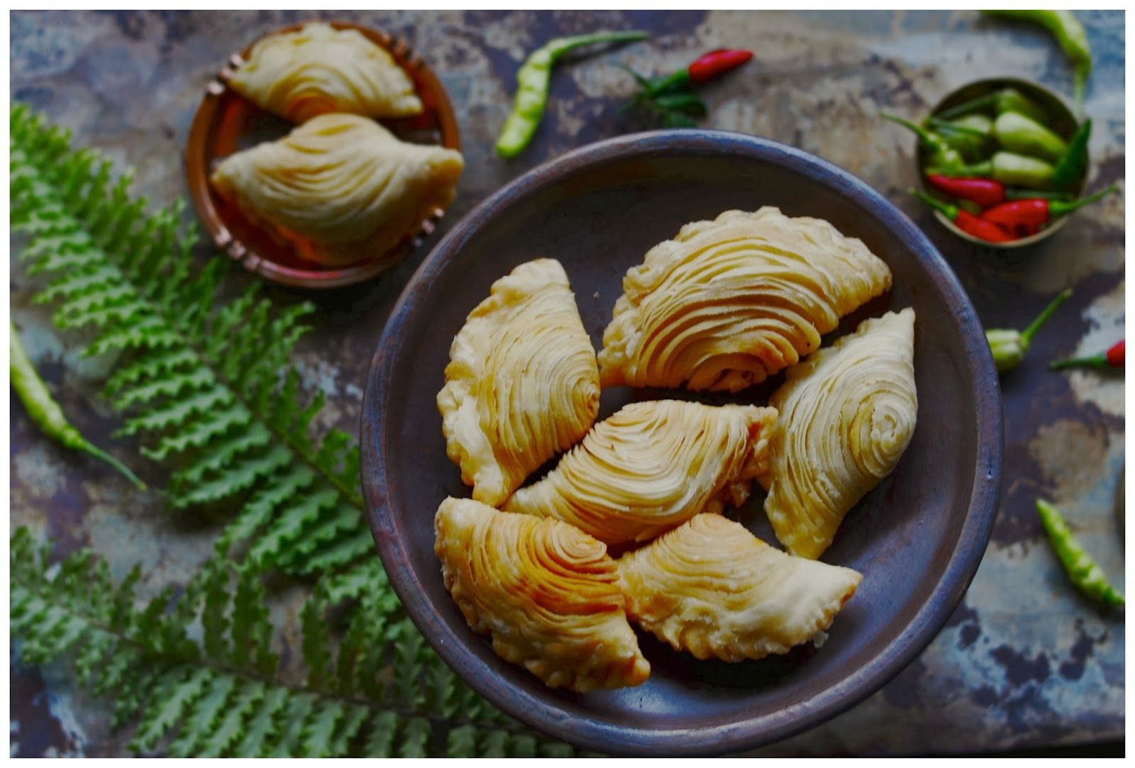 Spiral Curry Puff Kari Pap Pusing Kari Pok Kari Resep Masakan Indonesia Masakan