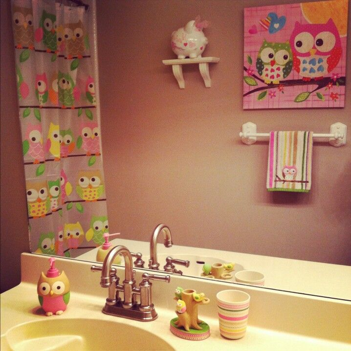 Smoot Pratt Blais Bucknor Can We Please Do This With Our Bathroom Owls Are So Cuteee