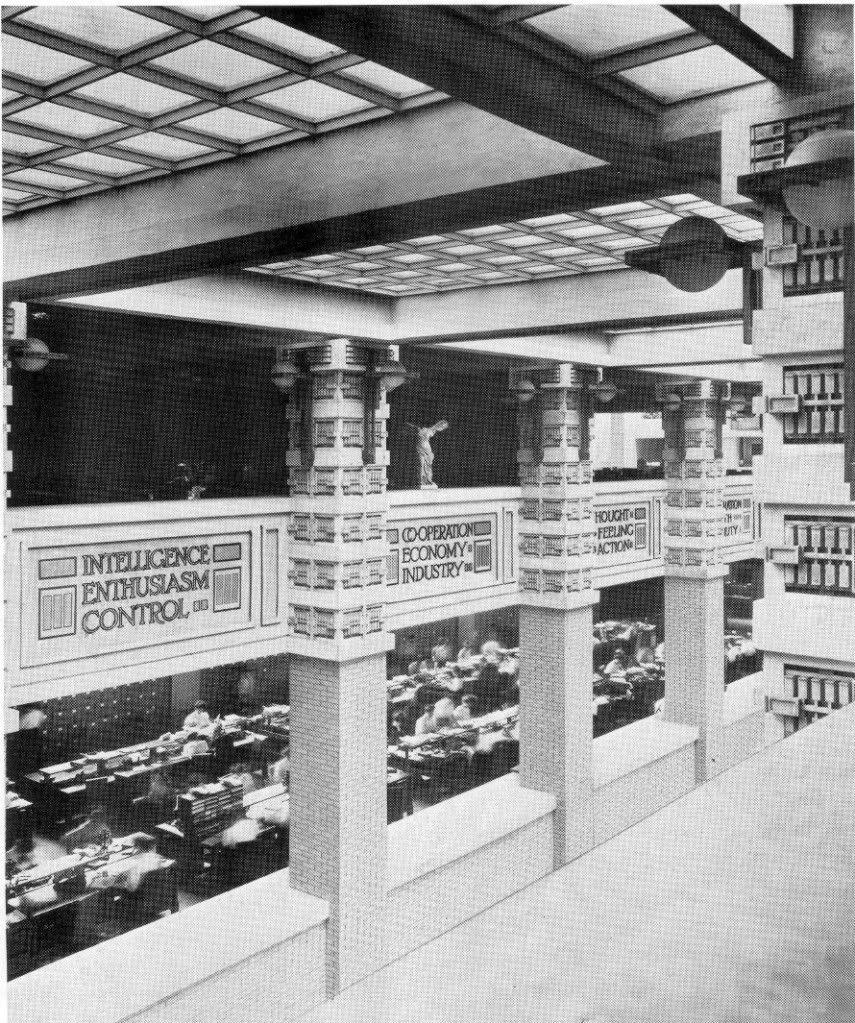 Larkin Building Frank Lloyd Wright Frank Lloyd Wright. La...