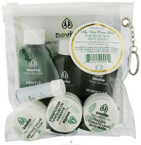 Devita Professional Skin Care Devita Try Me Kit Oily Acne Misc By Devita Professional Sk Professional Skin Care Products Best Natural Skin Care Mud Masque