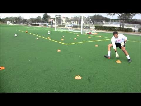 Goalkeeper Training Agility Drill Soccer Goalkeeper Training