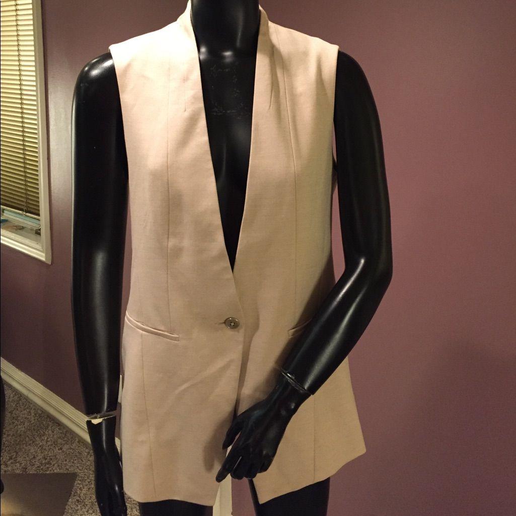 White House Black Market Tailored Vest