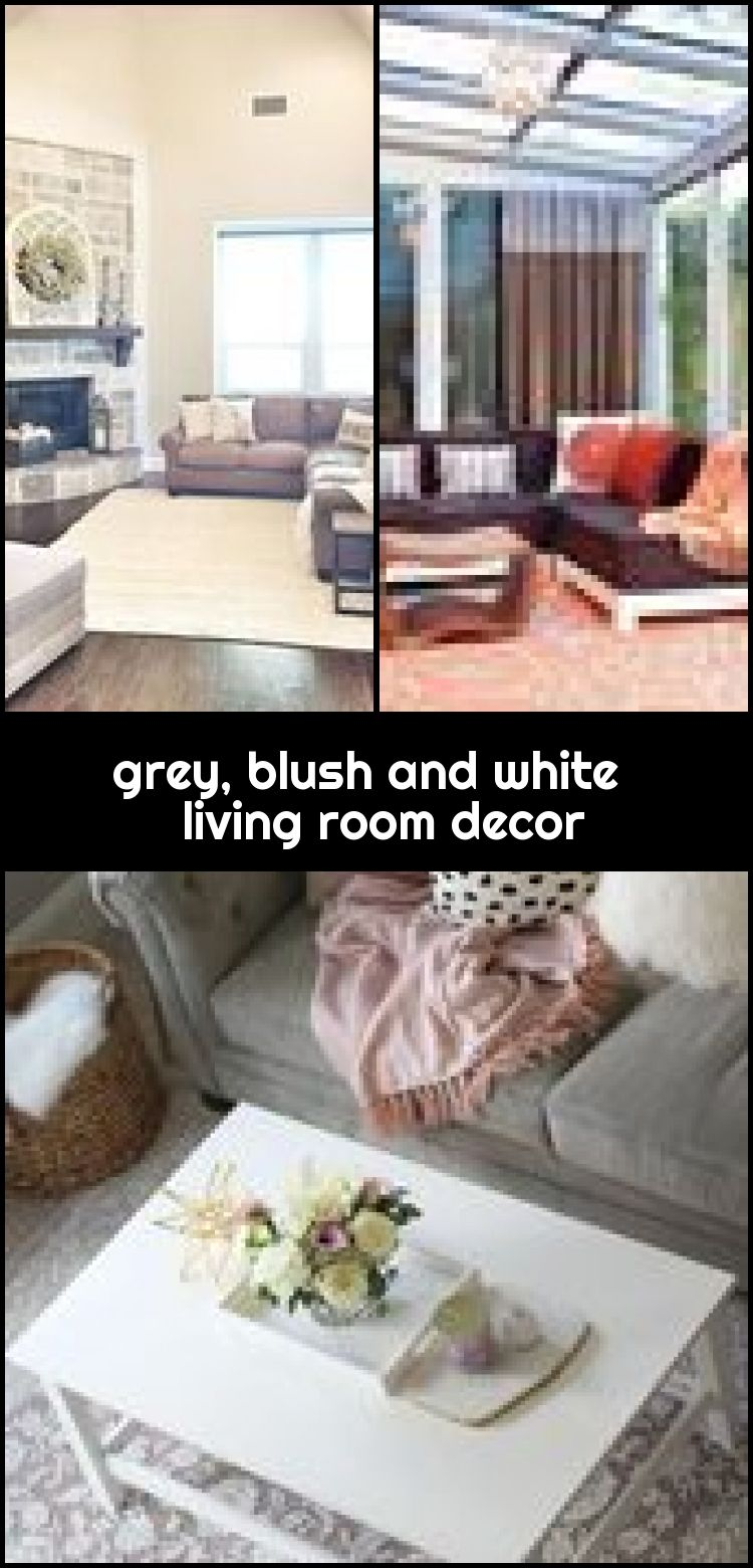 grey, blush and white living room decor #livingroomdecorcurtains , grey, blush and white living room decor #livingroomdecorcurtains... ,  #Blush #decor #grey #living #livingroomdecorcurtains #room #white