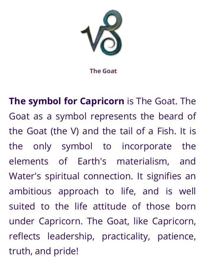 This Symbol Is My Tattoo Tattoos Pinterest Capricorn Zodiac