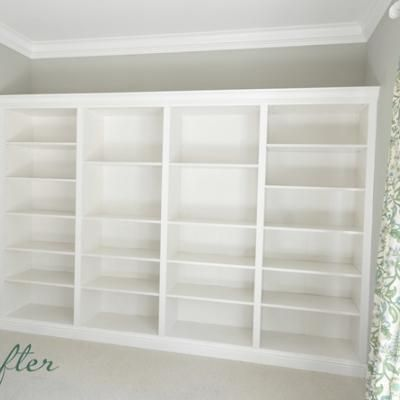 From Ikea Shelves To Built Inu0027s {Shelving U0026 Storage}   Tip Junkie