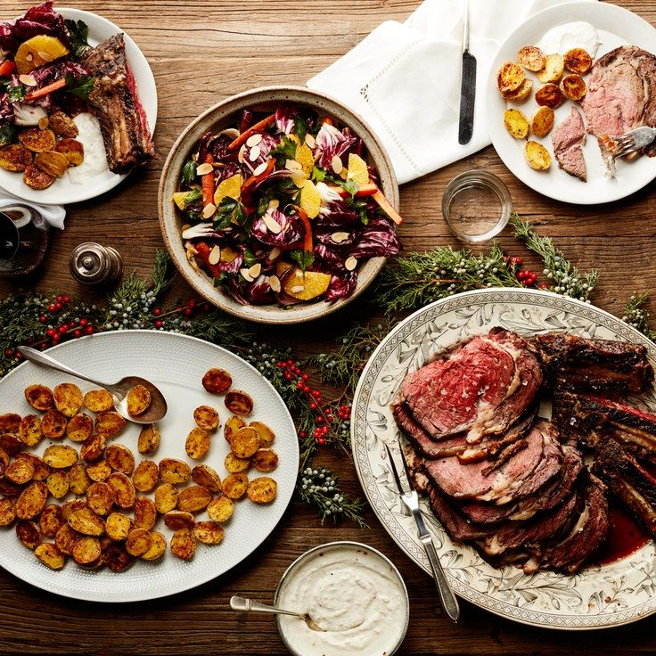 Old fashioned christmas food