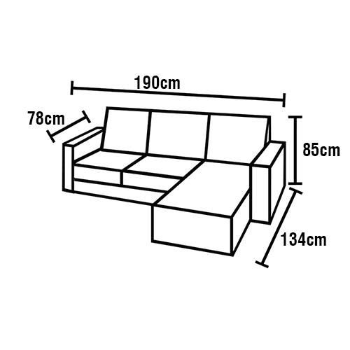 Outstanding Sofa De 2 Lugares American Comfort C938 Chaise Lado Forskolin Free Trial Chair Design Images Forskolin Free Trialorg