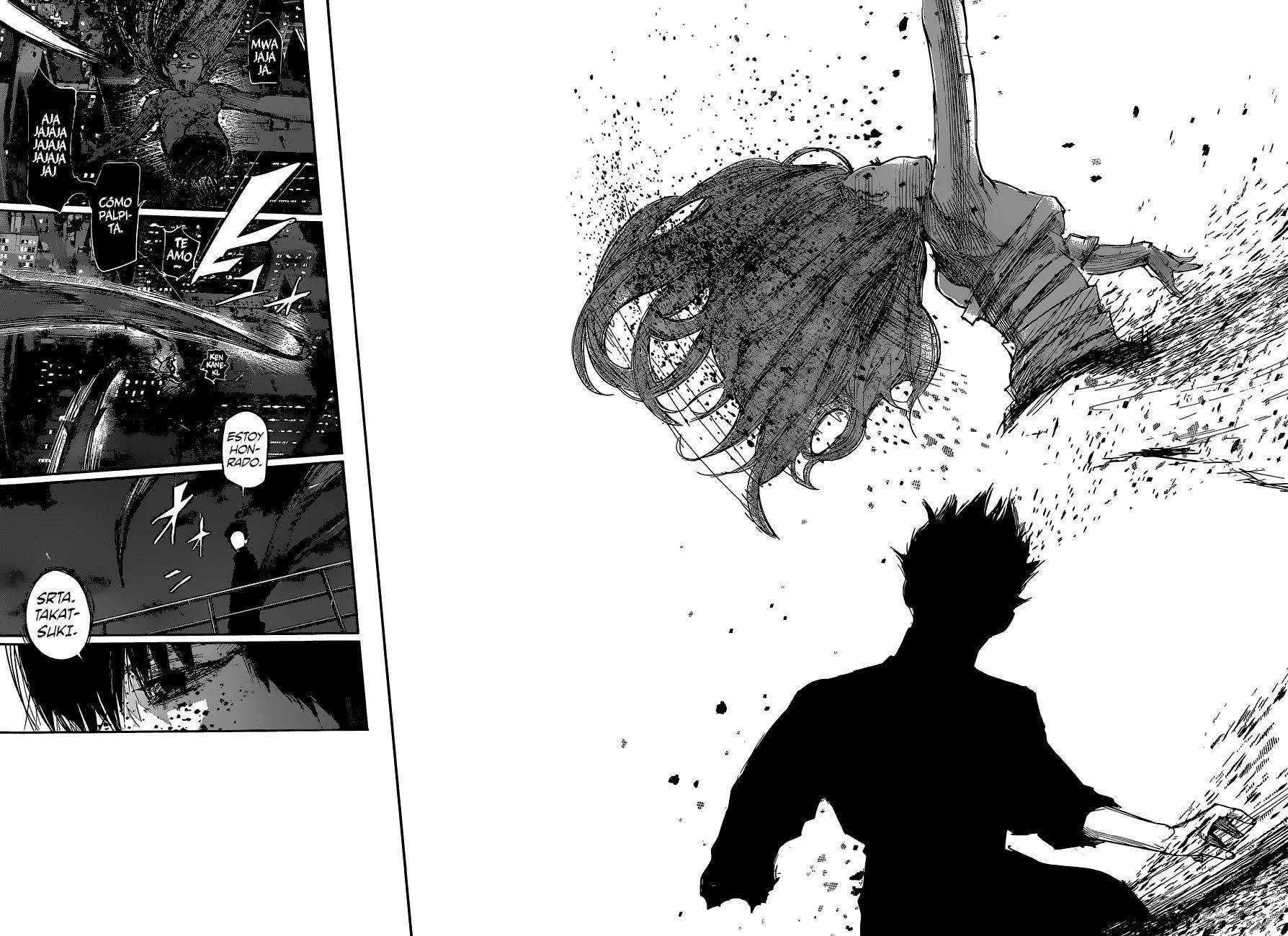 Kaneki vs Eto Tokyo Ghoul:Re 56