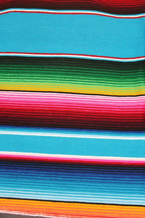 Serape Blanket Indigenous Mexican Blanket Good For Background
