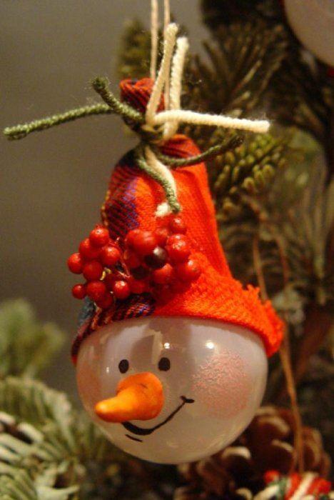 Weihnachtskugeln Aus Gluehbirnen Basteln Dekoking Com Dekoideen