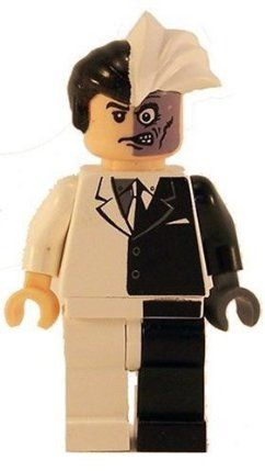 Two-Face - LEGO Batman Figure by LEGO. $17.97. Two-Face Batman Lego. Two-Face Batman Lego