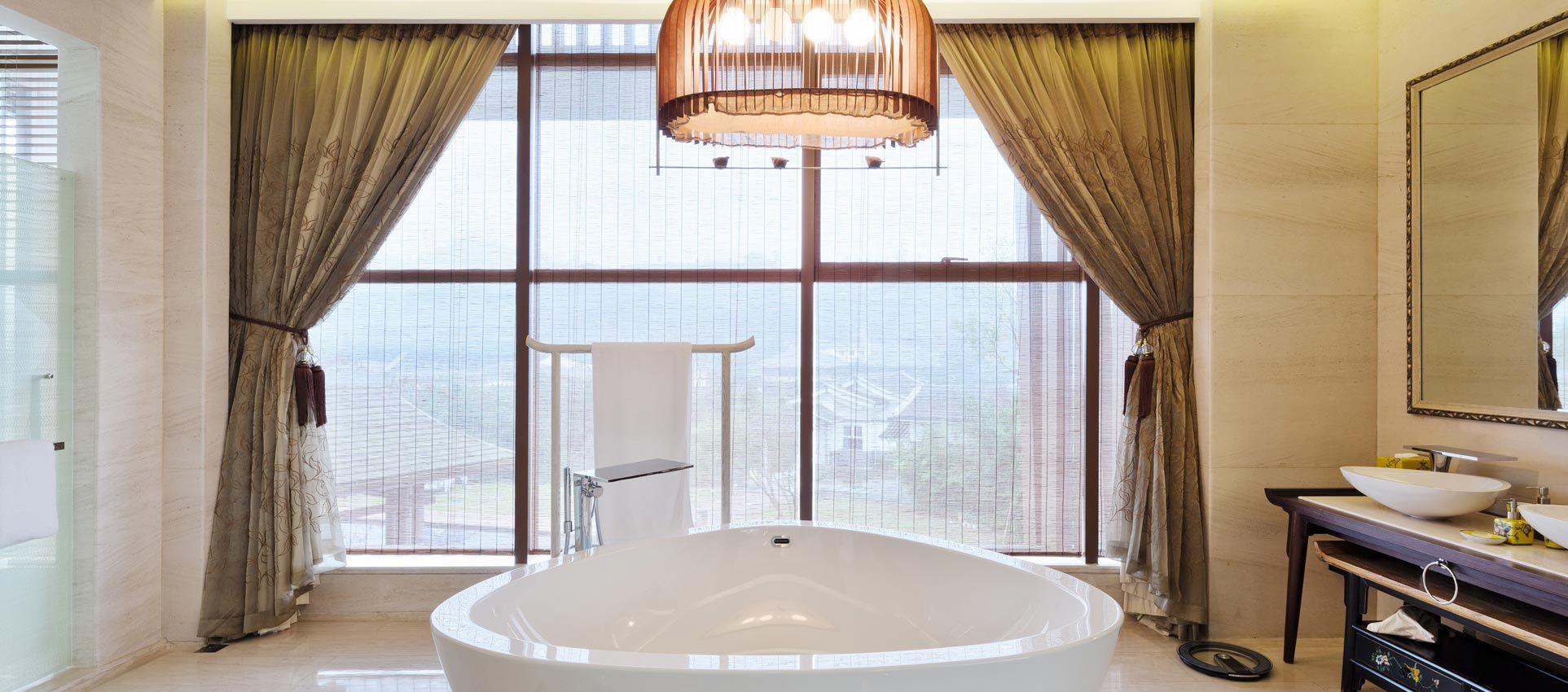Badezimmer Gardinen Nach Mass Kaufen Fensterdeko Furs Bad In 2020 Bad Gardinen Gardinen Badezimmer Badezimmer